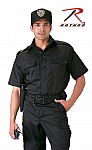 Rothco 30206 Black Short Sleeve Tactical Shirt-2XL