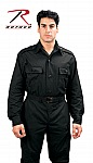 Rothco 6733 Black Tactical Shirt-2XL