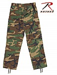 Rothco 2941 Relaxed Fit Zipper Fly Woodland Camouflage Fatigue Pants
