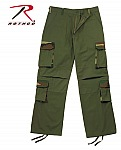 Rothco 2167 Rigid Olive Drab w/Woodland Camo Accent Fatigues-2XL