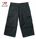 Rothco 8352 Black 6-Pkt Capri Pants-2XL