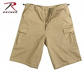 Rothco 7968 Khaki Xtra Long Fatigue Short-2XL