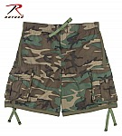 Rothco 2204 Woodland Camouflage Swim Trunks-2XL