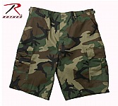 Rothco 65214 Woodland Camouflage BDU Combat Shorts-3XL