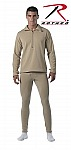Rothco 69024 Desert Sand E.C.W.C.S. Gen III Mid-Weight Thermal Bottoms