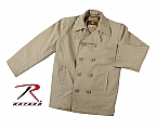 Rothco 7875 Vintage Khaki Cotton Peacoat-3XL