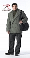 Rothco 7677 Vintage Olive Drab Cotton Peacoat