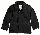 Rothco 8610 Black Vintage M-65 Field Jacket-3XL