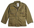 Rothco 8618 Russet Brown Vintage M-65 Field Jacket-3XL