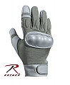 Rothco 3464 Foliage Green Kevlar/Nomex Hard Knuckle Tactical Glove