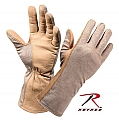 Rothco 3474 G.I. Type Desert Sand Nomex Flight Gloves
