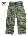 Rothco 4487 Vintage Vietnam Era Tiger Stripe 6-Pkt Fatigue Pants