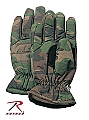 Rothco 4944 Woodland Camouflage Insulated Hunting Gloves