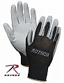 Rothco 3200 Black/Grey Polyurethane Coated Nylon Utility Gloves