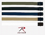 """Rothco 4294 Military Web Belts w/Black Buckle-44"""""""