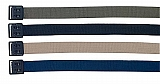 Rothco 4290 Military Web Belts w/Black Open Faced Buckle-44""