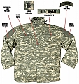 Rothco 8541 Army Digital Camo M-65 Field Jacket-2XL