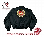 Rothco 7460 Marine Corp Globe & Anchor MA-1 Flight Jacket