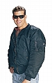 Rothco 7365 Navy Blue MA-1 Flight Jacket-3XL