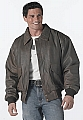 Rothco 7577 Classic A-2 Brown Leather Flight Jacket