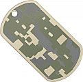 Rothco 8495 G.I. Type Army Digital Camo Dog Tag