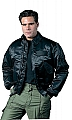 Rothco 7523 Black CWU-45P Style Flight Jacket-2XL