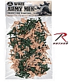 Rothco 576 40 Pc WWII Army Men Toy Play Set