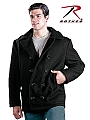 Rothco 7065 Black U.S. Navy Type Peacoat-U.S. Made-50, 52