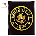 Rothco 2303 U.S. Army Insignia Fleece Blanket
