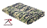 Rothco 10569 Woodland Digital Camo Fleece Blanket