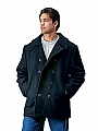 Rothco 7471 Black U.S. Navy Type Peacoat-4XL