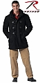 Rothco 8726 Black Wool Navy Duffle Coat-2XL, 3XL