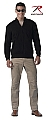 Rothco 3343 Black Reversible Zip Up Commando Sweater-3XL