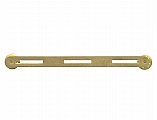 Rothco 71003 3 Ribbon Brass Mount