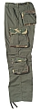 Rothco 2146 Olive Drab w/Woodland Camo Accent Fatigues
