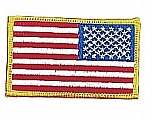 Rothco 17777 Reversed U.S. Flag Patch