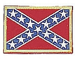 Rothco 1862 Rebel Flag Patch