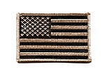 Rothco 1888 Desert Tan Flag Patch