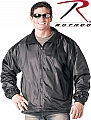 Rothco 7606 Black Nylon/Polar Fleece Reversible Jacket