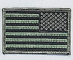Rothco 17788 Reversed SuBDUed U.S. Flag Patch