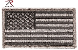 Rothco 17780 Foliage Green American Flag Patch w/Hook Back