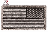 Rothco 17779 Reverse Foliage Green American Flag Patch w/Hook Back