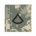 Rothco 1761 ACU Digital Camo Private 1st Class Embroidered Rank Insignia
