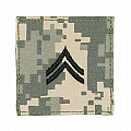 Rothco 1771 ACU Digital Camo Corporal Embroidered Rank Insignia
