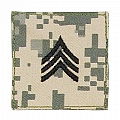 Rothco 1762 ACU Digital Camo Sergeant Embroidered Rank Insignia