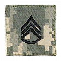 Rothco 1764 ACU Digital Camo Staff Sergeant Embroidered Rank Insignia