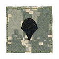 Rothco 1760 ACU Digital Camo Spec-4 Embroidered Rank Insignia