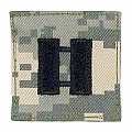 Rothco 1767 ACU Digital Camo Captain Embroidered Rank Insignia