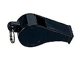 Rothco 8407 Black Police Whistle