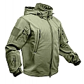 Rothco 9745 Olive Drab Special Ops Tactical Soft Shell Jacket
